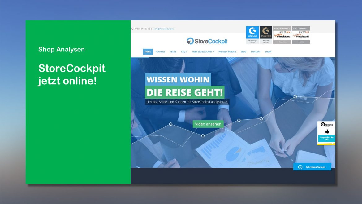 Shop Analysen StoreCockpit online