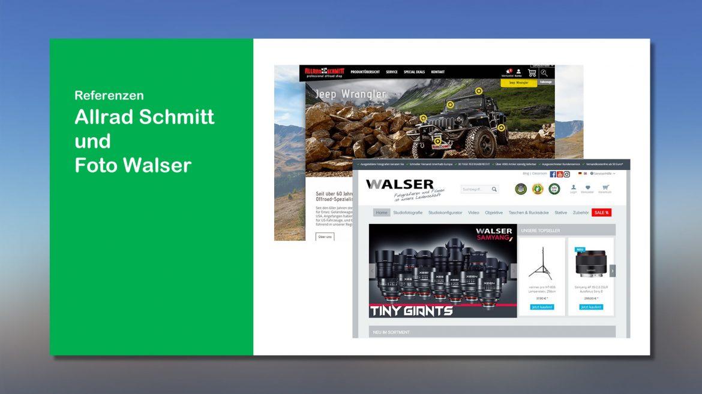 Referenzen Allrad Schmitt und Foto Walser