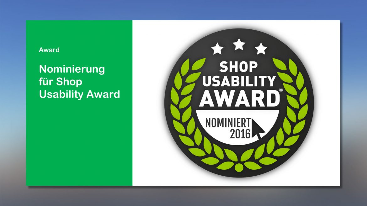 News webfellows Shop Usability Award