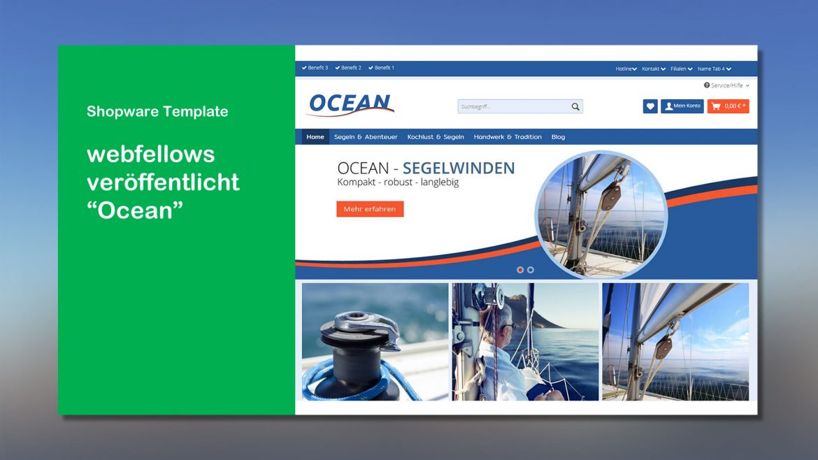 webfellows Shopware Template Ocean