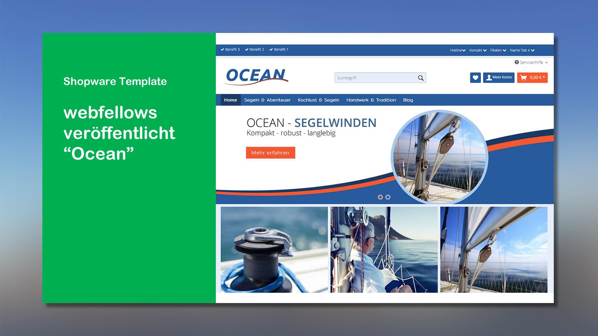 webfellows Shopware Template Ocean