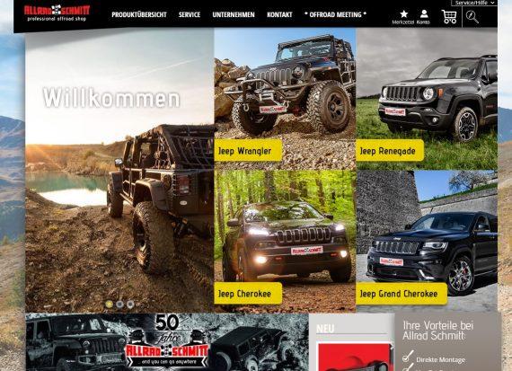 webfellows Referenz Allrad Schmitt Startseite
