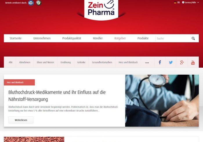 Shopware Referenz Zeinpharma Blog