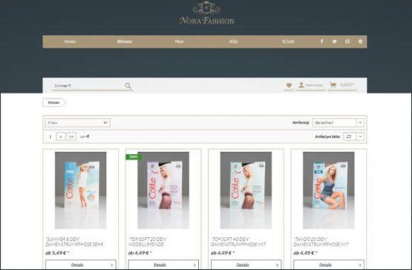 webfellows INVEST Nora Fashion