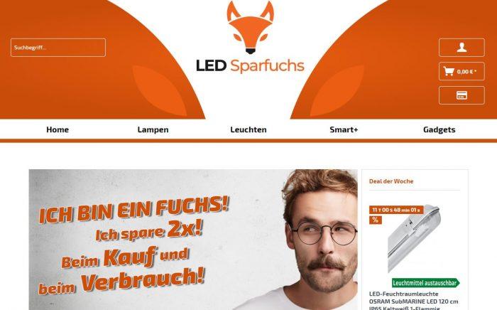 LED Sparfuchs webfellows Referenz