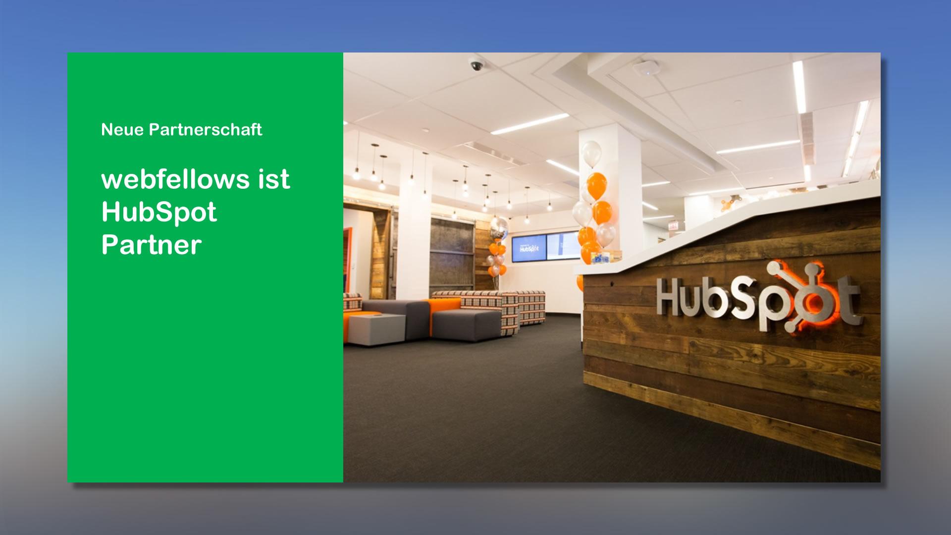 webfellows ist HubSpot Partner