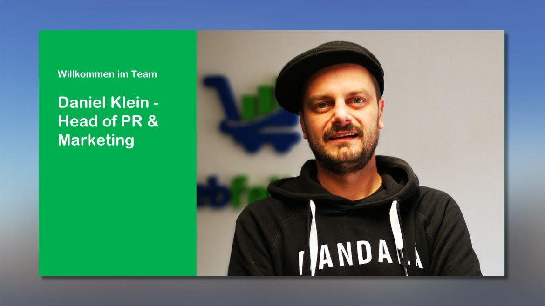 Head of Marketing Daniel Klein
