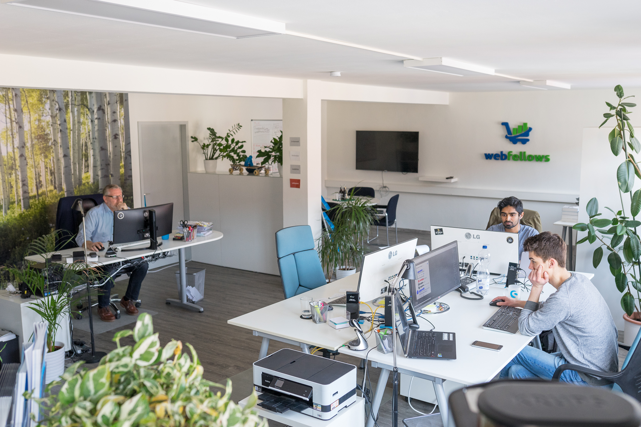 webfellows Büro Arbeitsplätze