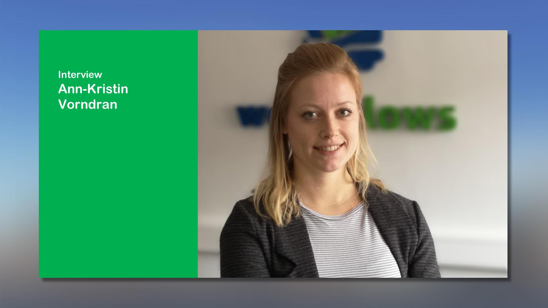 Ann-Kristin Vorndran bei webfellows im Interview