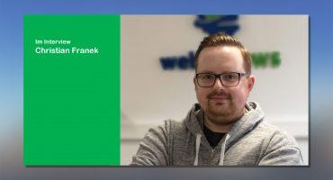 Neuer Entwickler bei webfellows Christian