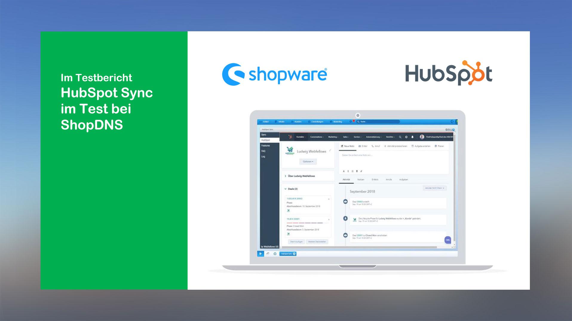 ShopDNS-testet-HubSpot-Sync