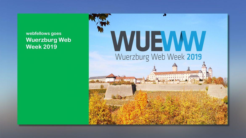 webfellows goes Wuerzburg Web Week