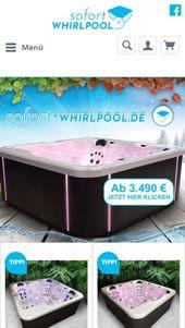 Sofort-whirlpool Referenz von webfellows (mobil)