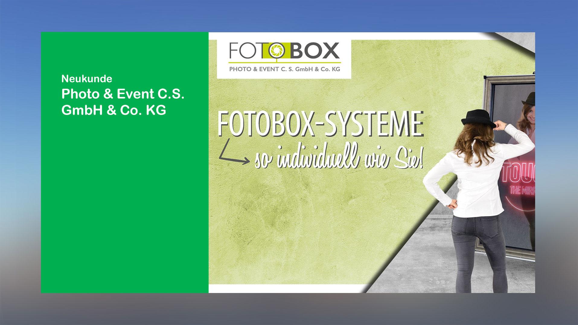 Neukunde-Fotobox