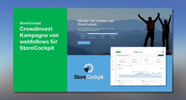 webfellows startet Crowdinvest Kampagne für Storecockpit